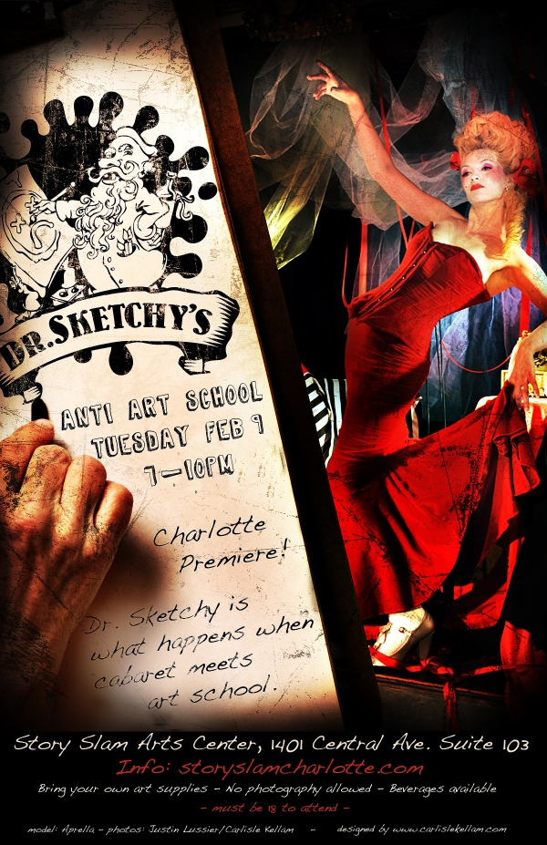 Dr. Sketchy poster